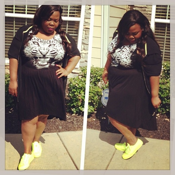 *plus size* high low dress